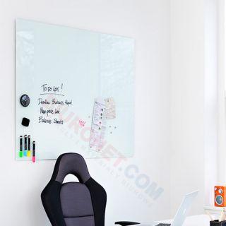 Tablica szklana suchościeralno magnetyczna 2x3 Naga 40x60 cm