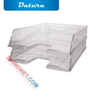 Tacka - półka na dokumenty A4, przeźroczysta. Datura