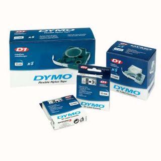Taśma D1 do drukarek Dymo, 9mm x 7m