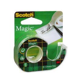 Taśma klejąca Scotch Magic Tape, matowa niewidoczna z podajnikiem