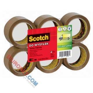 Taśma pakowa Scotch Hot-Melt, 50mm x 66m, 1 sztuka