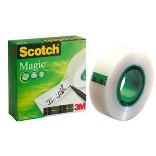Taśma Scotch Magic w pudełku, matowa, niewidoczna