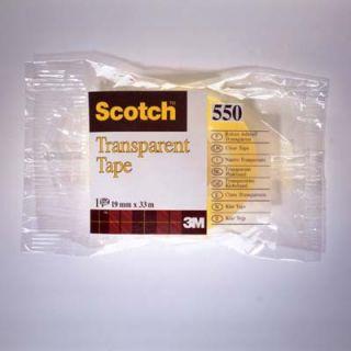 Taśma Scotch Transparent, ekonomiczna taśma biurowa w folii #3M