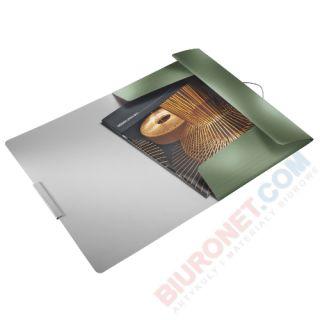 Teczka z gumką Leitz Style A4, plastikowa, grzbiet 15mm do 150 kartek