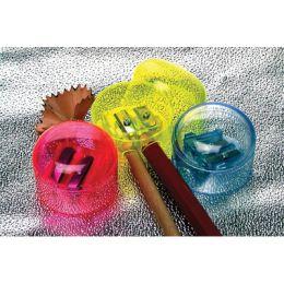 Temperówka plastikowa z pojemnikiem
