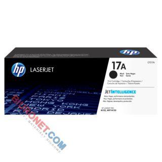 Toner HP 17A do LaserJet M102/130, wydajność 1600 stron