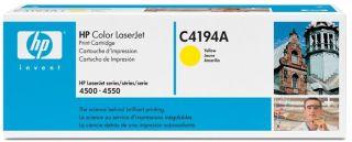 Toner HP Color LaserJet do seri 4500/4550.