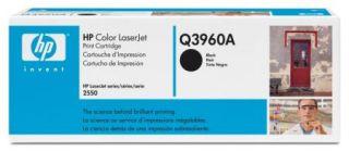 Toner HP Color LaserJet Q3960A czarny.