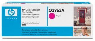 Toner HP Color LaserJet Q3963A magenta