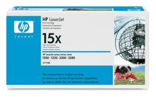 Toner HP LaserJet C7115X czarny.