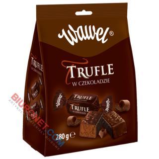 Trufle Wawel, cukierki w czekoladzie