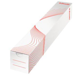 Tuba kartonowa archiwizacyjna Esselte, kolor biały  #archiwizacja