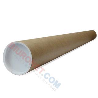 Tuba tekturowa na rysunki, średnica 52 mm, długość 750 mm