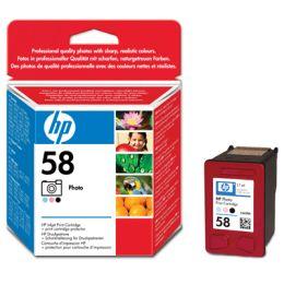 Tusz do drukarek atramentowych HP nr 58. (foto)