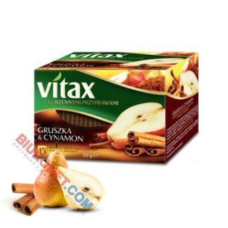 Vitax z Przyprawami Korzennymi, herbata owocowa, 15 torebek w kopertach