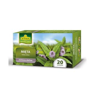 Vitax Zioła, herbata ziołowa, 20 torebek mięta