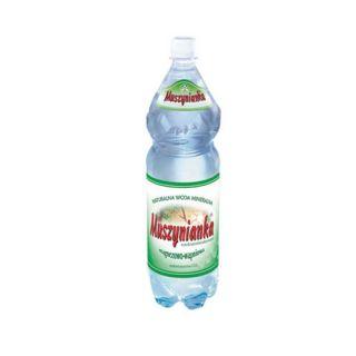 Woda Muszynianka Wysokozmineralizowana, magnezowo-wapniowa [1,5L x 6 sztuk]