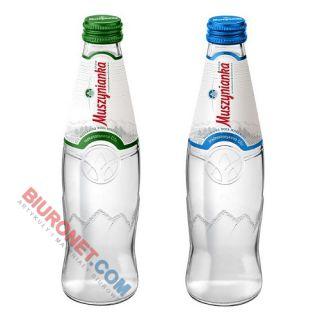 Woda Muszynianka Zdrój Wysokozmineralizowana, magnezowo-wapniowa w szklanych butelkach [0,3L x 9 sztuk]