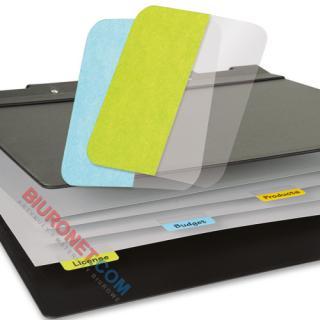 Zakładki indeksujące 3L Office, jednostronne, foliowe, 4 x 12 sztuk