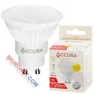 Żarówka LED Accura Premium PowerLight, reflektor MR16, 9W
