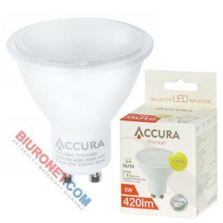 Żarówka LED Accura Premium, reflektor MR16, 5W