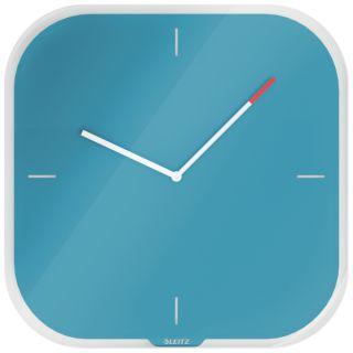 Zegar ścienny Leitz Cosy, niebieski 90170061 morski niebieski
