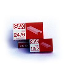 Zszywki miedziane SAX, opakowanie 1000 sztuk