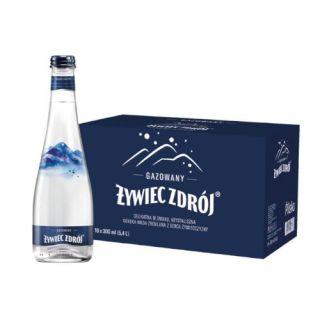Żywiec Zdrój 0,3L x 18 sztuk, woda źródlana w szklanych butelkach gazowana