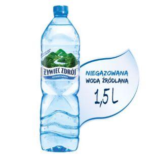 Żywiec Zdrój 1,5L x 6 sztuk, woda źródlana niegazowana