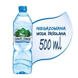 Żywiec Zdrój, woda mineralna [0,5L x 12 sztuk]