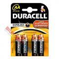 Baterie Duracell Basic, paluszki alkaliczne, 4 sztuki