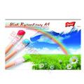 Blok rysunkowy Unipap, 16 kolorowych kartek