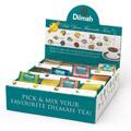 Dilmah Pick'N'Mix, zestaw czarnych herbat aromatyzowanych, w kopertach