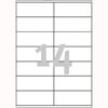 Etykiety uniwersalne AVERY Zweckform, papierowe, 100 arkuszy A4