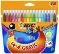 Flamastry szkolne Bic Kids Couleur 14 kolorów