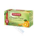 Herbata Teekanne Green Tea, zielona, 20 torebek w kopertach