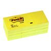 Karteczki Post-it, żółty bloczek 100 kartek