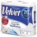 Ręcznik papierowy Velvet Czysta Biel Najdłuższy [2-warstwowy, celulozowy]