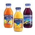 Tarczyn, sok owocowy w szklanej butelce 300 ml x 15 sztuk mix trzech smaków
