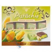 Czekoladki Pistachio Solidarność, z kremem pistacjowym