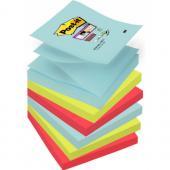 Karteczki harmonijkowe Post-it Super Sticky Z-Notes paleta M...