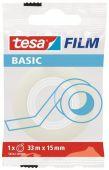 Taśma klejąca biurowa Tesa Basic, 15mm x 33m
