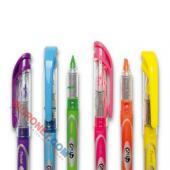 Zakreślacz fluorescencyjny Pentel SL12, z płynnym tuszem, li...